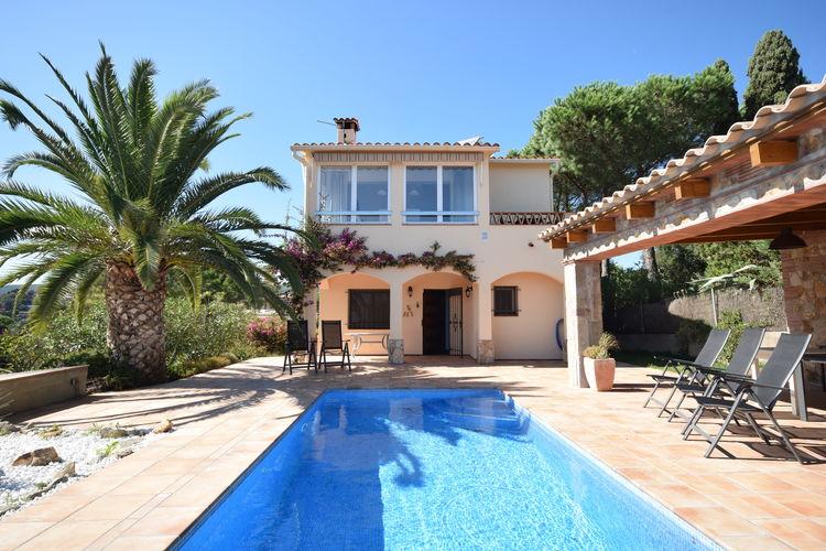 Vakantiehuizen Spanje | Costa-Brava | Villa te huur in Calonge met zwembad  met wifi 6 personen