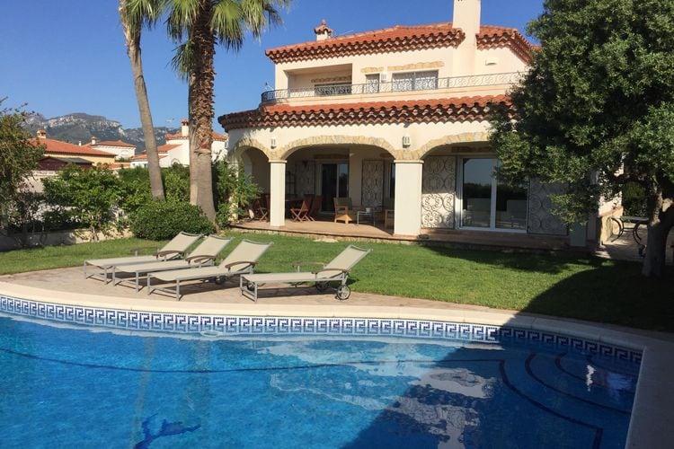 Fantastisch vakantiehuis voor 10 personen met privézwembad in Miami Platja