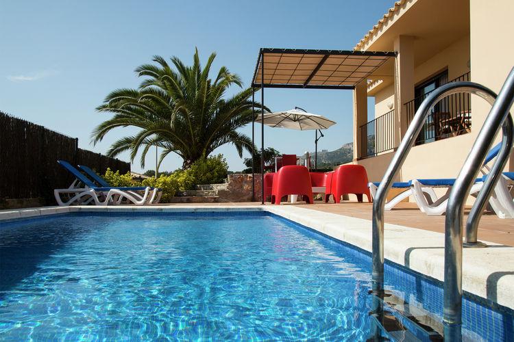 Vakantiehuizen Spanje | Costa-Brava | Villa te huur in LEstartit met zwembad  met wifi 6 personen
