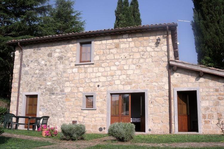 Bagnoregio Vakantiewoningen te huur Karakteristiek appartement voor 18 personen op schitterend landgoed