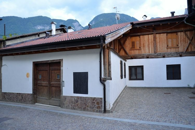 Vakantiewoning  met wifi  Monclassico  Vakantiehuis in de bergen, in Val di Sole, grote tuin, diverse recreatieruimtes
