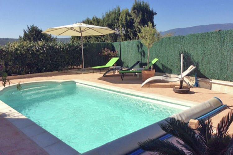 Vakantiehuizen Frankrijk | Provence-alpes-cote-d-azur | Vakantiehuis te huur in Montauroux met zwembad  met wifi 6 personen