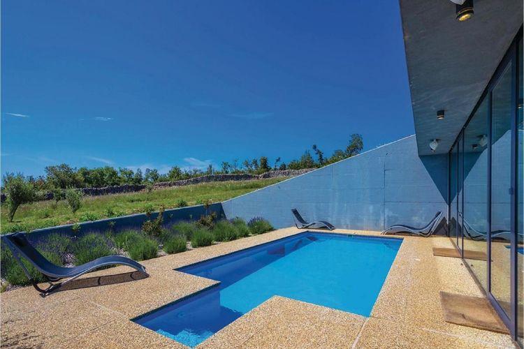 Villa Kroatië, eld, Krk Villa HR-00008-10