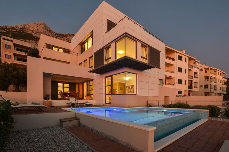 Villa Kroatië, Dalmatie, Makarska Villa HR-00008-14