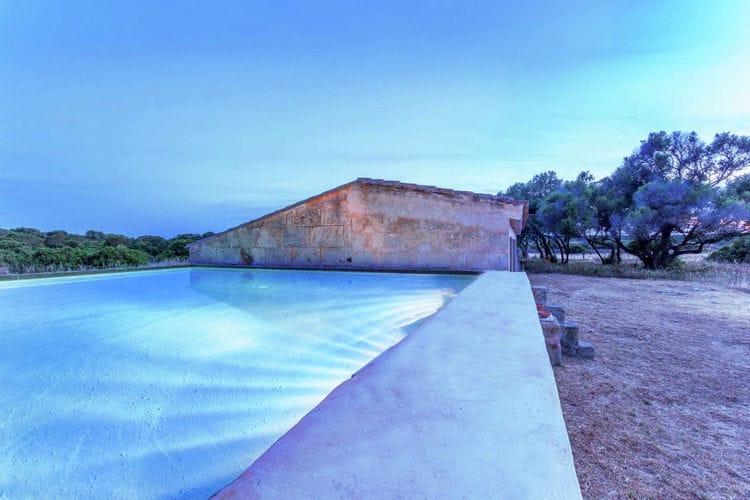 Vakantiehuizen Spanje | Mallorca | Vakantiehuis te huur in Campos met zwembad  met wifi 26 personen
