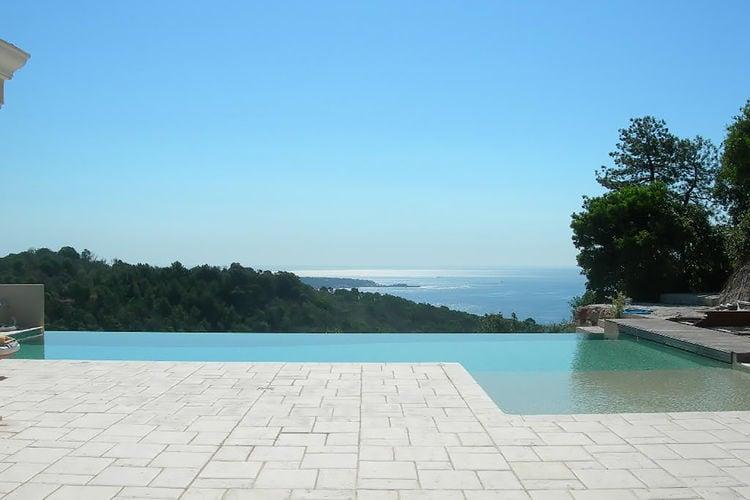 Frankrijk | Provence-alpes-cote-d-azur | Villa te huur in Cannes met zwembad  met wifi 12 personen