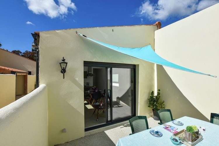 Cote Atlantique Vakantiewoningen te huur Romantisch stadshuis met prive teras en 15km van het strand.