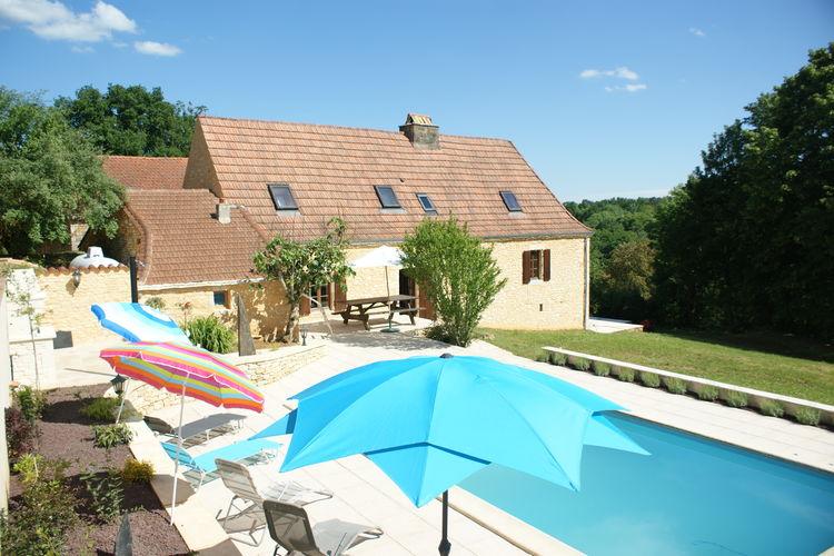 Vakantiehuis met zwembad met wifi  BesseMaison de vacances Besse Micouleaud 5 pers