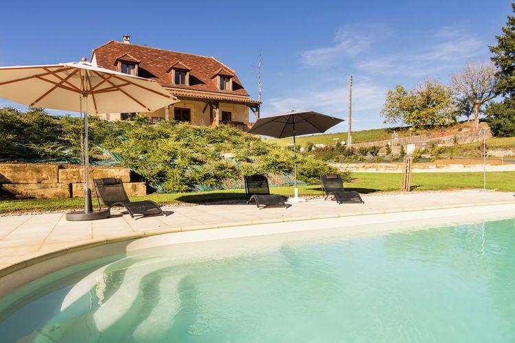 Villa huren in Dordogne - met zwembad  met wifi met zwembad voor 9 personen  Deze in 2014 gebouwde luxe villa l..
