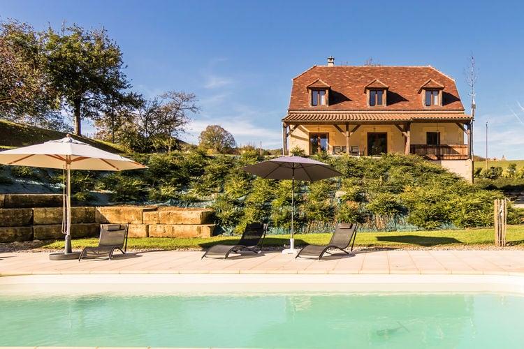 Villa met zwembad met wifi  Montignac  Luxe villa met verwarmd zwembad aan de rand van Montignac.