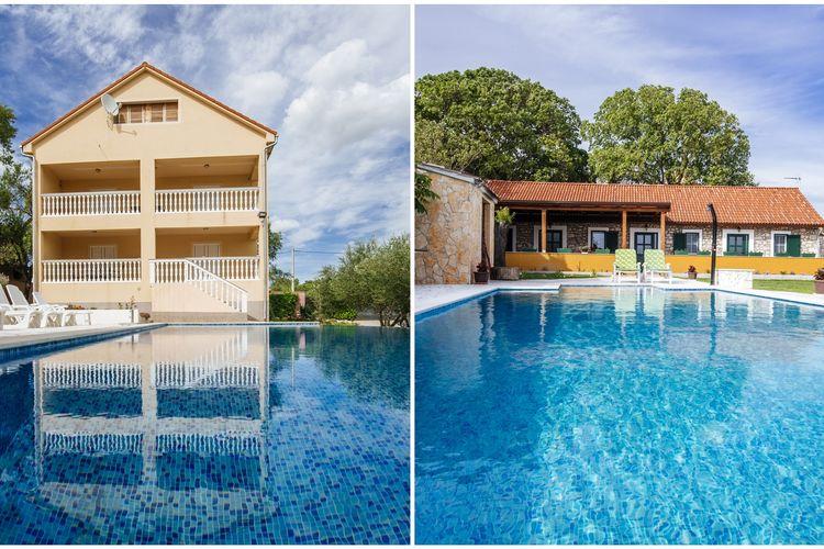 Vakantiehuis met zwembad met wifi  KakmaHoliday dream Uzelac