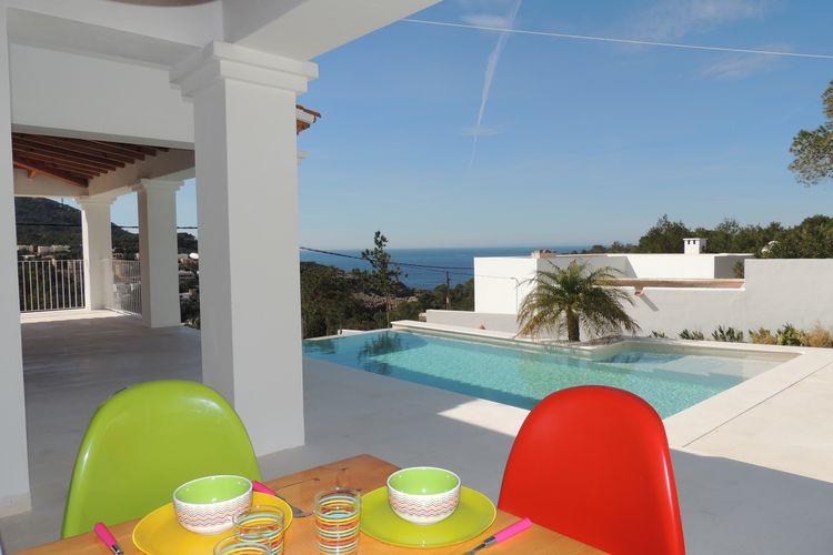 Vakantiehuizen Cala-Vedella-Sant-Josep-de-sa-Talaia te huur Cala-Vedella,-Sant-Josep-de-sa-Talaia- ES-07830-48 met zwembad  met wifi te huur
