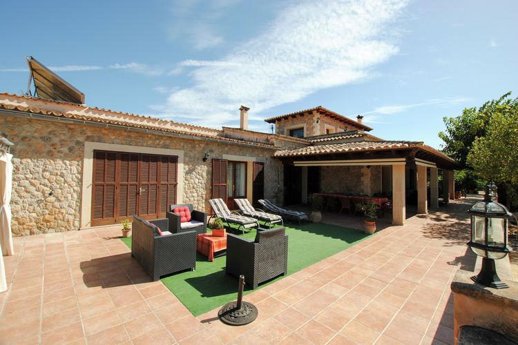 vakantiehuis Spanje, Mallorca, Alaró vakantiehuis ES-07340-05