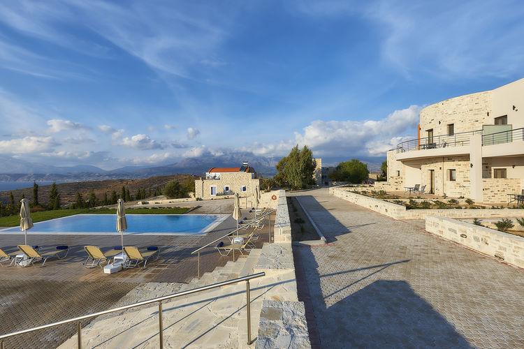 Appartement met zwembad met wifi  KamilariOrelia Cretan Apartment II