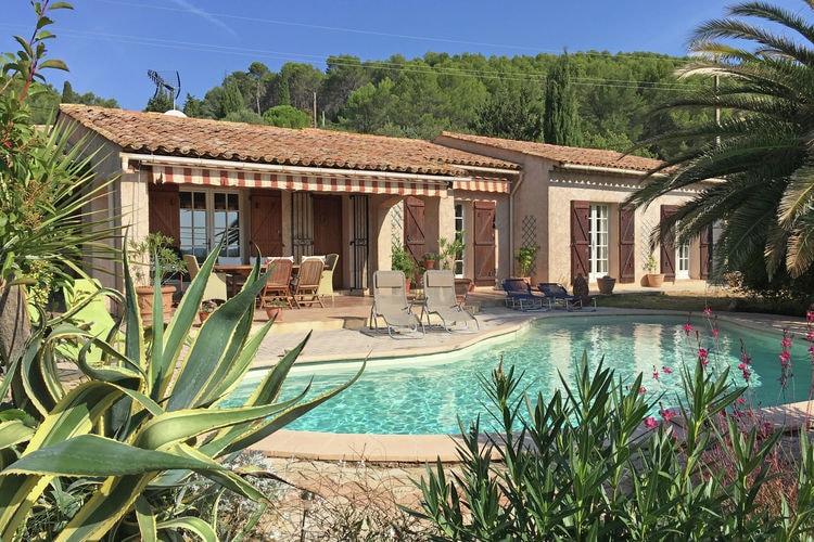 Lorgues Vakantiewoningen te huur Vrijstaande villa met privézwembad en weids uitzicht, nabij het dorp Lorgues