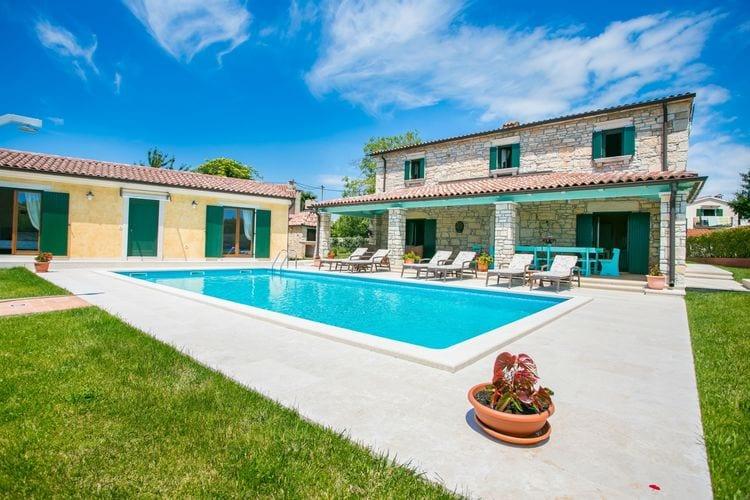 Villa Kroatië, Istrie, Radetici Villa HR-52444-55