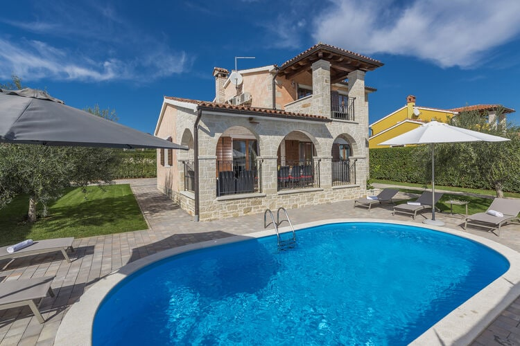 Villa Kroatië, Istrie, Montizana Villa HR-52440-228