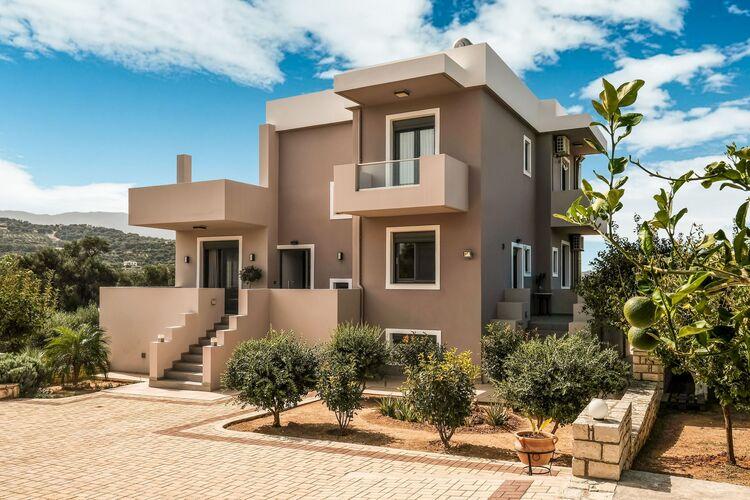 Vakantiehuizen Griekenland | Kreta | Villa te huur in Adelianos-Kampos met zwembad  met wifi 11 personen