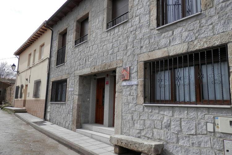 Vakantiehuizen Bernuy-Salinero-vila te huur Bernuy-Salinero,-Ávila- ES-00029-18 met zwembad  met wifi te huur