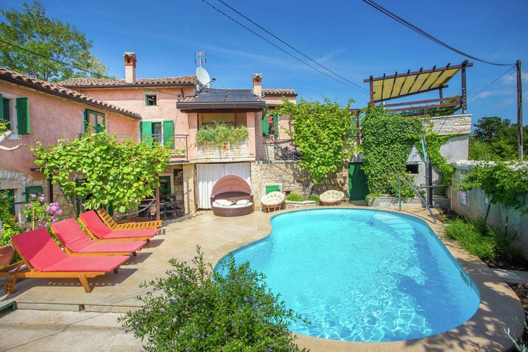 Villa Kroatië, Istrie, Zminj Villa HR-52341-34