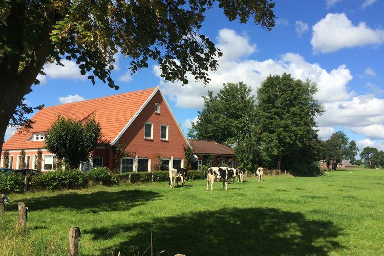 Vakantiehuis  met wifi  BackemoorVilla Ostfriesland