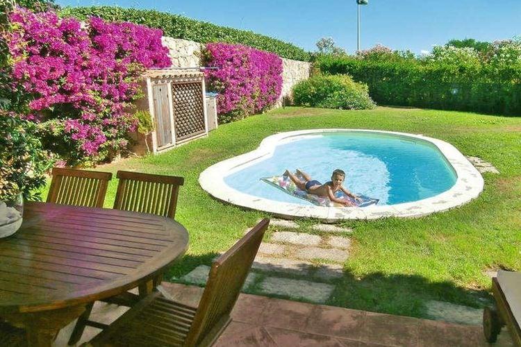 Sardegna Vakantiewoningen te huur Gezellige villa in Palau, met privézwembad en op slechts 300 meter van de zee!!
