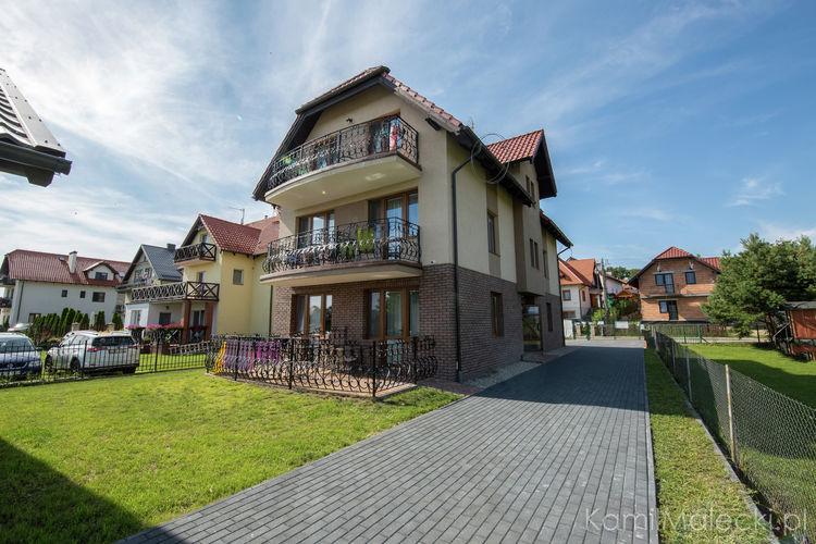 Appartementen Polen | Pom | Appartement te huur in Krynica-Morska   met wifi 5 personen