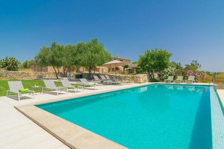 Villa met zwembad met wifi  MallorcaCases Dalcudiarrom