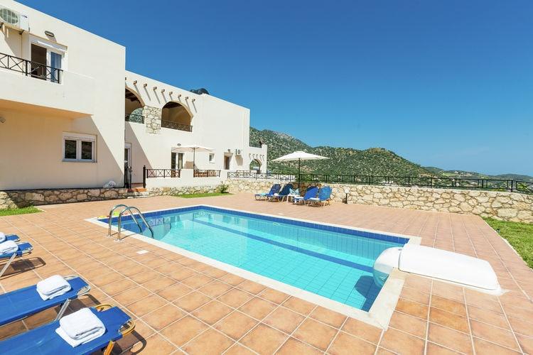 Vakantiehuizen Griekenland | Kreta | Villa te huur in Bali met zwembad  met wifi 8 personen