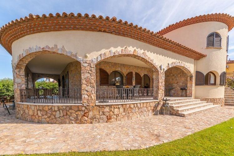 Villa huren in Costa Brava - met zwembad  met wifi met zwembad voor 8 personen  Villa van twee verdiepingen met pr..