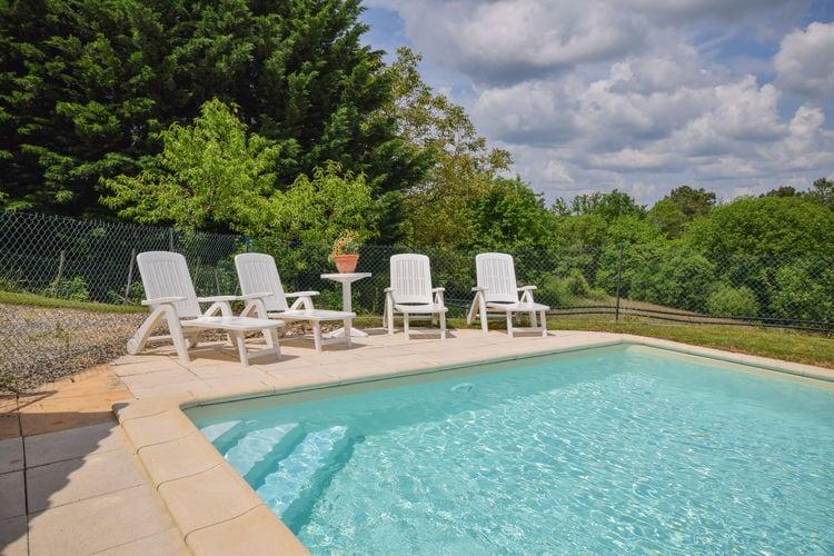Vakantiehuis met zwembad met wifi  MontcabrierGirou Haut