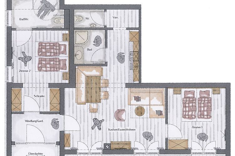 Ref: AT-5741-77 2 Bedrooms Price