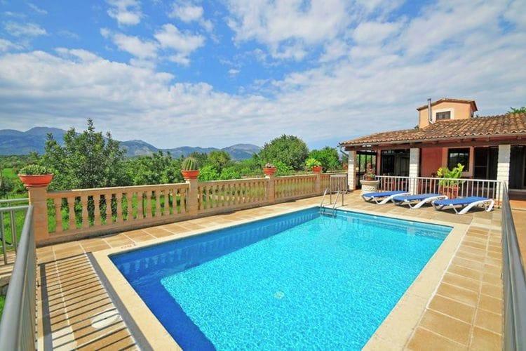 Vakantiehuizen Spanje | Mallorca | Vakantiehuis te huur in Inca met zwembad  met wifi 6 personen