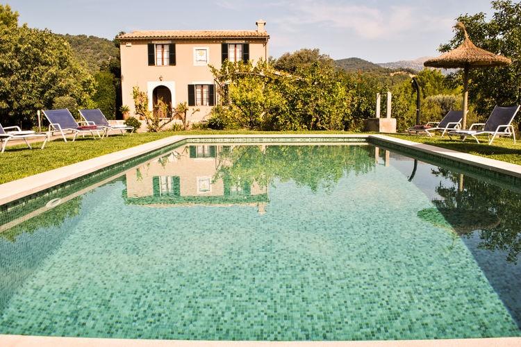Vakantiehuis met zwembad met wifi  MallorcaSa Vinyota