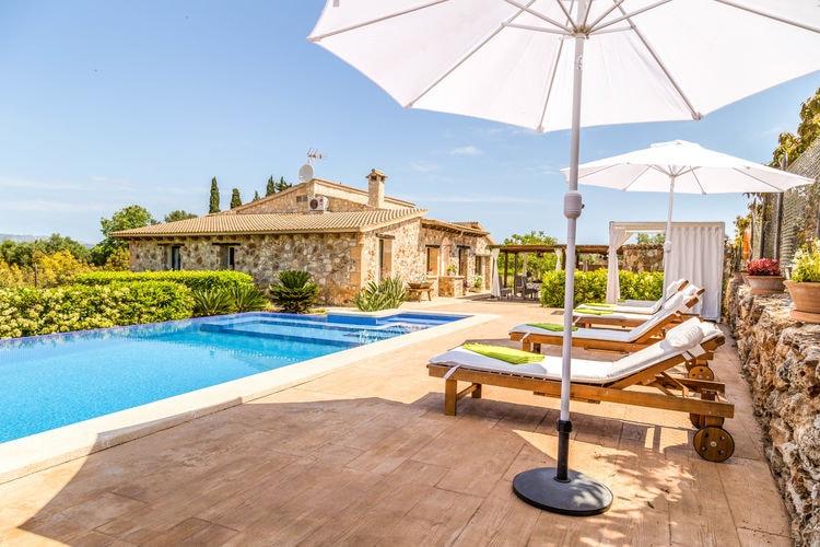 Vakantiehuis met zwembad met wifi  MallorcaEs Moya des Pins