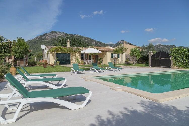 Vakantiehuizen Spanje | Mallorca | Vakantiehuis te huur in Selva met zwembad  met wifi 6 personen