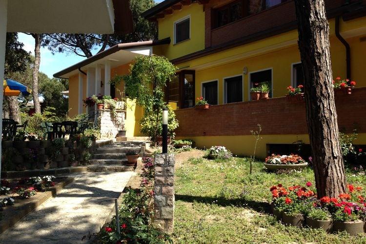 Italie | Veneto | Villa te huur in Rosolina-Mare   met wifi 6 personen