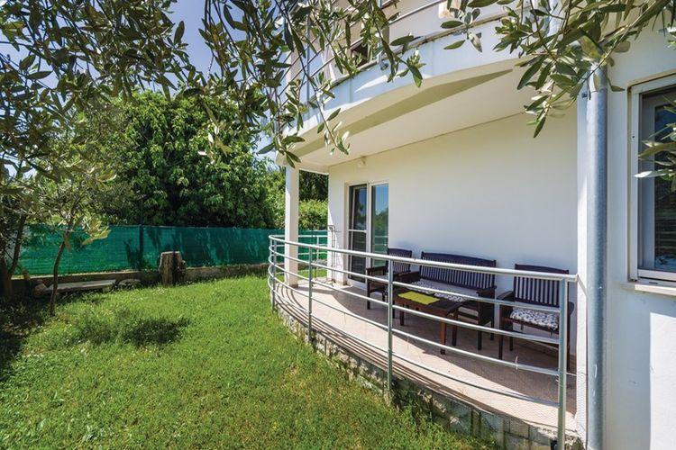 vakantiehuis Kroatië, Dalmatie, Bibinje vakantiehuis HR-00008-75