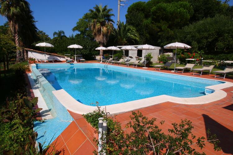 Vakantiehuizen Italie | Basilicata | Villa te huur in Ricadi met zwembad  met wifi 13 personen