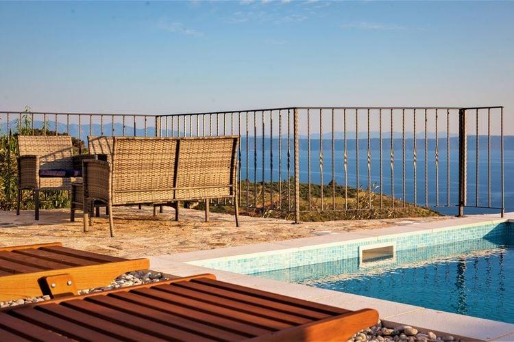 Kroatie | Dalmatie | Villa te huur in Podgora met zwembad  met wifi 8 personen