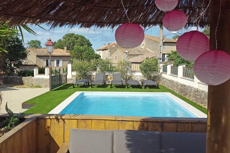 Vakantiewoning Frankrijk, Languedoc-roussillon, Villedaigne Villa FR-00019-40