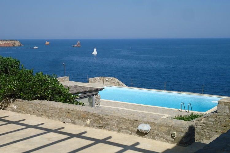 Griekenland | Centraal-Griekenland | Villa te huur in Eiland-Paros met zwembad  met wifi 4 personen