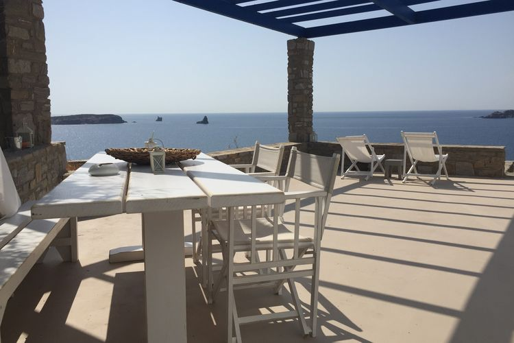 Griekenland | Centraal-Griekenland | Villa te huur in Eiland-Paros met zwembad  met wifi 6 personen