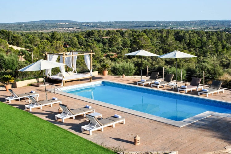 Villa met zwembad met wifi  MallorcaFinca Puntiro