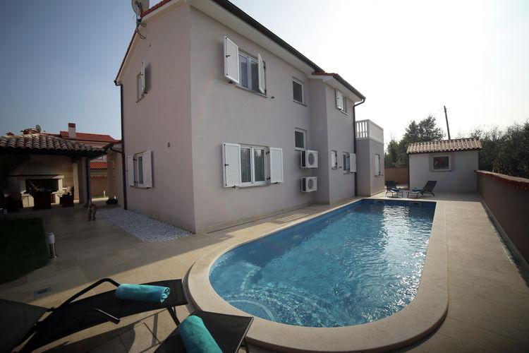 Kroatie | Istrie | Villa te huur in Loborika met zwembad  met wifi 8 personen