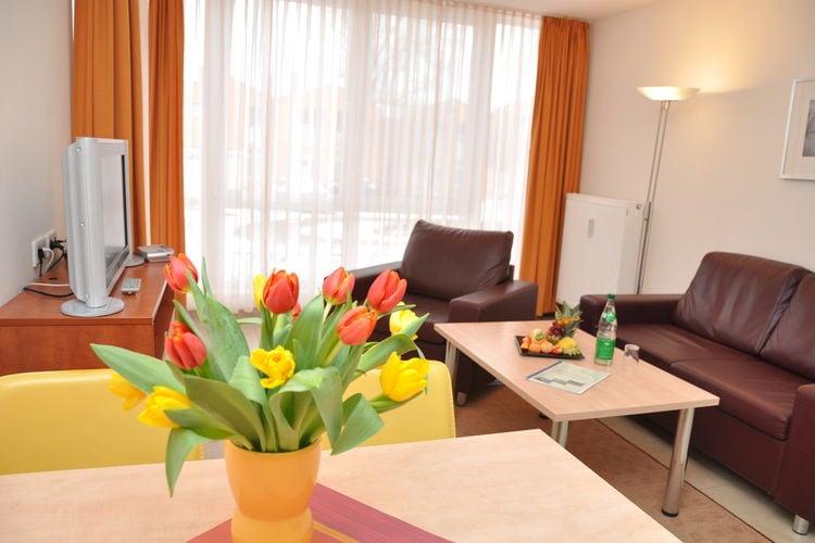 Duitsland | Ostsee | Appartement te huur in Rerik met zwembad  met wifi 3 personen