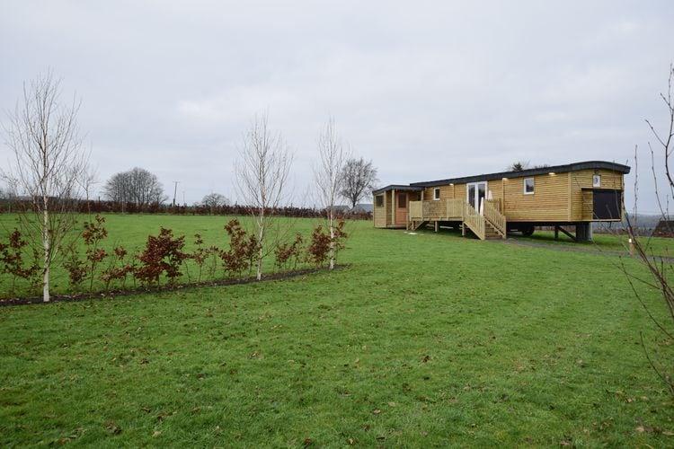 luxe caravan met sauna in het hart van de Ardennen
