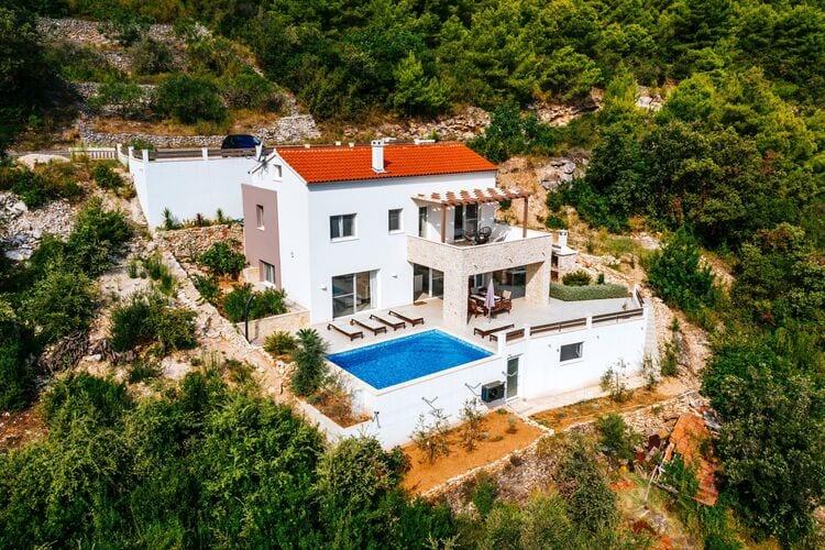 Villa Kroatië, Dalmatie, Veli IŽ Villa HR-23284-03