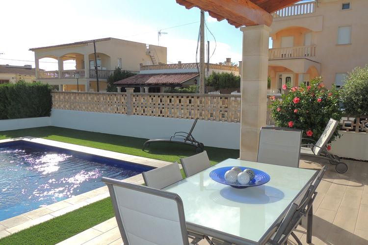 vakantiehuis Spanje, Mallorca, Sa Rapita vakantiehuis ES-07639-10