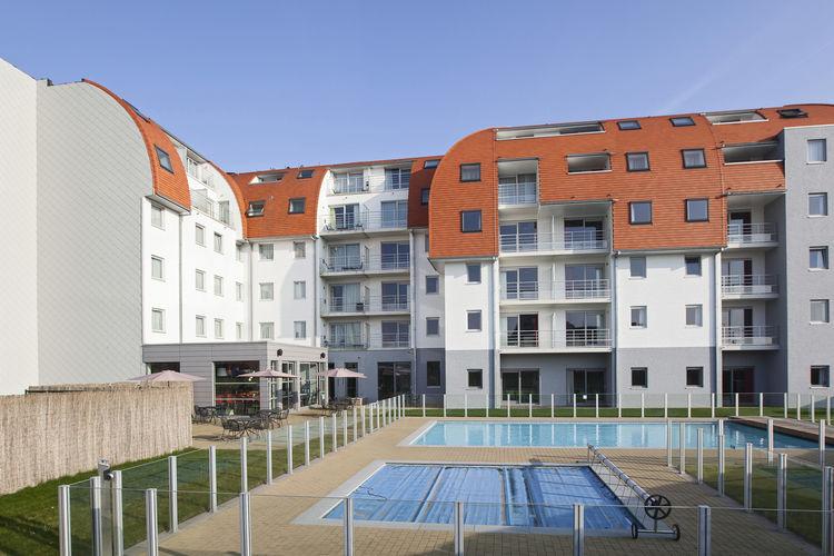 Vakantiehuizen Belgie | West-Vlaanderen | Appartement te huur in Zeebrugge met zwembad  met wifi 5 personen